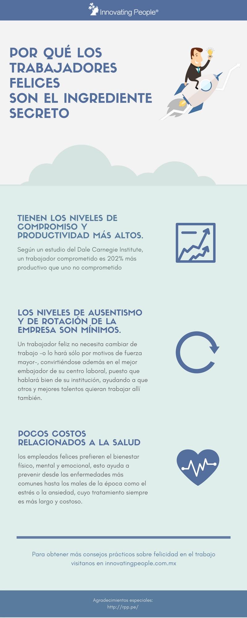 Características de los empleados felices