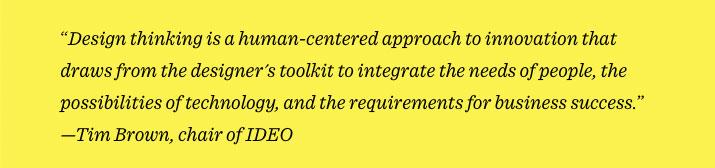que es el design thinking segun sus creadores